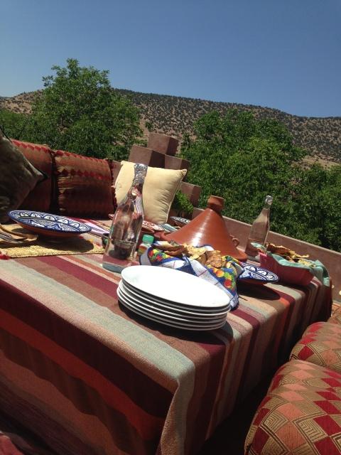 Almoços com vistas lindas
