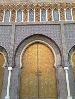 As 7 portas do Palácio Real de Fez