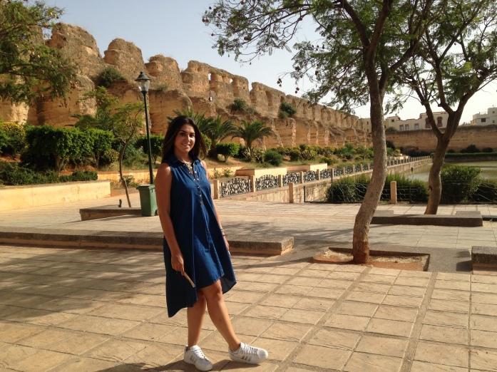 Meknes e suas muralhas