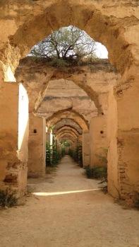 Uma das áreas do Granero de Meknes