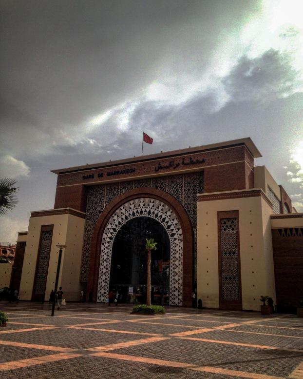 Arquitetura de Marrakech - Gare du Train