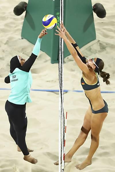atleta muçulmana